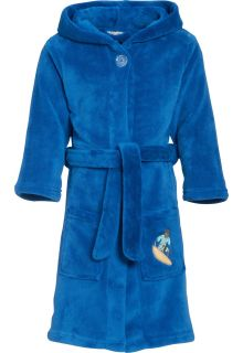 Playshoes---Fleece-Bathrobe-with-hoodie---Surf-Blue