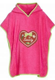 Playshoes---Baby-towel-with-hoodie---Sweetheart