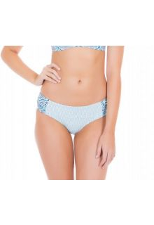 Cabana-Life---UV-resistant-Bikinibottom-for-ladies---Blue/White