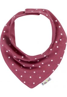 Playshoes---Neckerchief-for-babies---Dots---Reddish-brown
