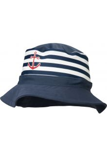 Playshoes---UV-hat-for-boys-and-girls---maritime---blue-/-white