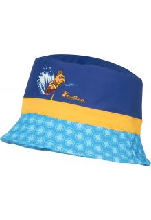 Playshoes---UV-sun-hat-for-boys---'Die-Maus'---blue