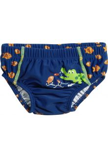 Playshoes---UV-swim-nappy-for-boys---Reusable---Crocodile---Blue