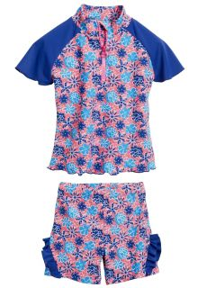 Playshoes---UV-swim-set---flowers-blue