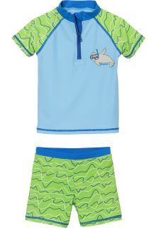 Playshoes---UV-swim-set-for-boys-and-girls---seal---blue/green-