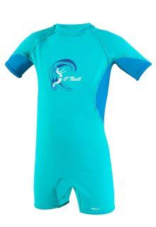 O'Neill---UV-Swim-suit-for-girls---O'Zone-Spring---Light-Aqua