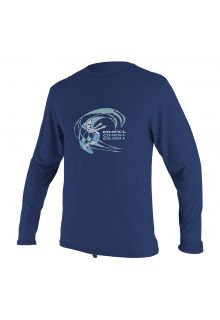 O'Neill---Boys'-UV-swim-shirt---long-sleeved---navy-