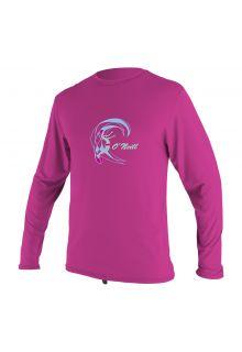 O'Neill---Girls'-UV-swim-shirt---long-sleeved---berry-