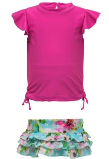 Snapper-Rock---UV-Swim-set-Ruffle---Watercolor-Floral---Pink/Blue