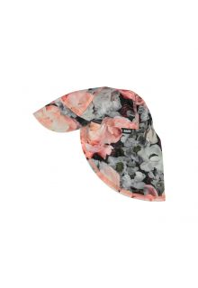 Molo---UV-sun-cap-with-neck-flap-for-kids---Nando---Blossom-print