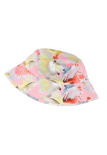 Molo---UV-Bucket-hat-for-girls---Nadia---Cockatoos---Multi