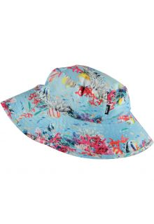 Molo---UV-Bucket-hat-for-girls---Nadia---Coral-Stripe---Multi