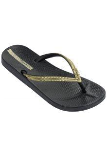 Ipanema---Flip-flops-for-women---Anatomic-Mesh---black-/-gold