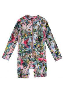 Molo---Kids'-long-sleeved-UV-swimsuit---Neka---Wild-Amazon