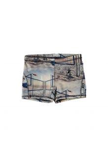 Molo---UV-swim-shorts-for-kids---Norton---Volleyball-Sunset