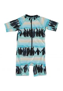 Molo---UV-Swimsuit-with-short-sleeves-for-boys---Neka---Penguin-Stripe