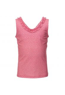 Petit-Crabe---UV-tankini-top---Flowers---Pink