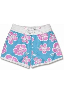 Snapper-Rock---UV-Board-Shorts-Kids--Hibiscus