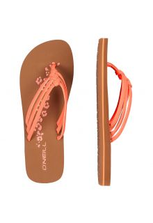 O'Neill---Women's-Flip-flops---Ditsy---Orange