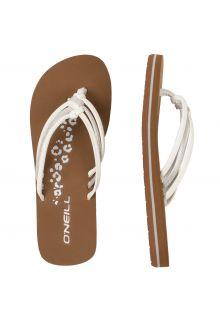 O'Neill---Girls'-Flip-flops---Ditsy---White