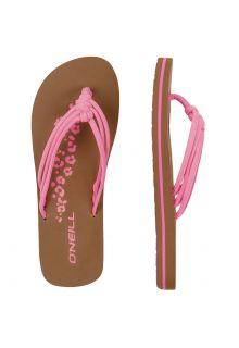 O'Neill---Girls'-Flip-flops---Ditsy---Pink