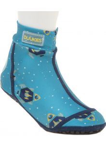 Duukies---Boys-UV-Beach-Socks---Astronaut-Petrol---Lightblue