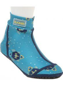 Duukies---Boys-UV-Beach-Socks---Astronaut-Petrol---Lightblue