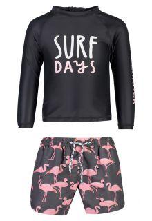 Snapper-Rock---UV-Swim-set-for-babies---Surf-Days---Black/Pink