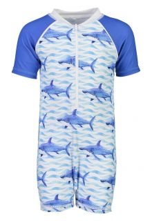 Snapper-Rock---UV-Swim-set-for-babies---School-of-Sharks---Blue