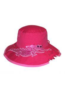 Rigon---UV-bucket-hat-voor-kinderen---Pink-croc