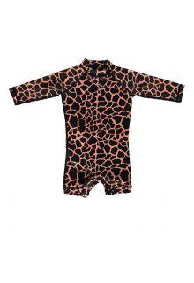 Beach-&-Bandits---UV-Swim-suit-for-babies---Spotted-Moray---Black