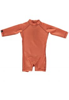 Beach-&-Bandits---UV-Swim-suit-for-babies---Ribbed-Clay---Brown