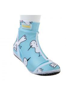 Duukies---Kids-UV-Beach-Socks---Blue-Bird---Light-Blue