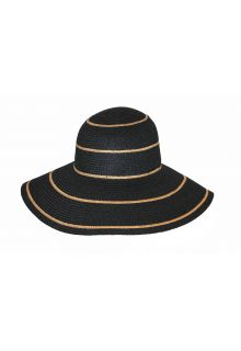Rigon---Floppy-hat-for-women---Lindeman---Black-with-camel-stripes