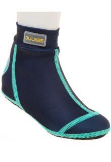 Duukies---Boys-UV-Beach-Socks---Blue/Green---Dark-Blue