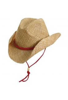 Scala---UV-western-hat-for-Kids---Red