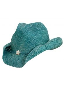 Scala---UV-cowgirl-hat-for-Kids---Turquoise