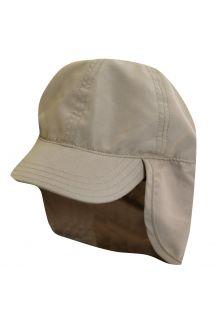 Scala---UV-flap-cap-for-Kids---Kaki