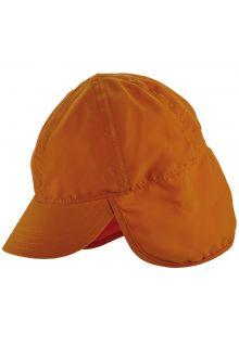 Scala---UV-flap-cap-for-Kids---Orange
