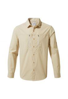 Craghoppers---UV-Shirt-for-men---Longsleeve---Kiwi-Boulder---Oatmeal