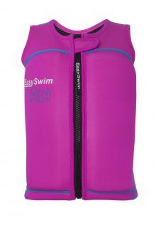 EasySwim---Girls'-UV-float-jacket---Fun---Pink