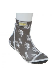 Duukies---Boys-UV-Beach-Socks---Dino-Grey---Grey