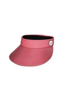 Emthunzini-Hats---Visor-for-women---Evoke-Morgan-Peak---Pink