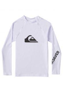 Quicksilver---UV-Swim-shirt-for-boys---Longsleeve---All-Time---White