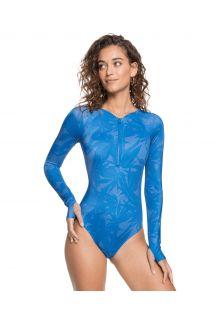 Roxy---UV-Bathingsuit-for-women---Longsleeve---Pop-Surf---Blue-Flower
