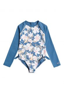 Roxy---UV-Bathingsuit-for-girls---Longsleeve---Swim-Lovers---Blue-Moonlight