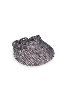 Emthunzini-Hats---Visor-for-women---Calypso-Peak---Black/White