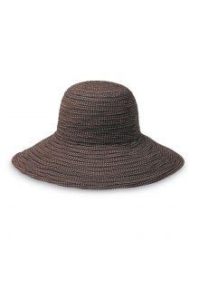 Emthunzini-Hats---UV-Floppy-sun-hat-for-women---Scrunchie---Brown