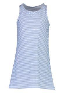 Snapper-Rock---UV-Swim-Dress-for-girls---Striped---Blue/White