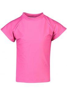 Snapper-Rock---UV-Swim-shirt-for-girls---Rash-top---Fuchsia-